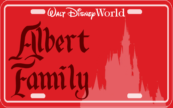 Customize and print your own stroller license tags from WDWPrepSchool.com