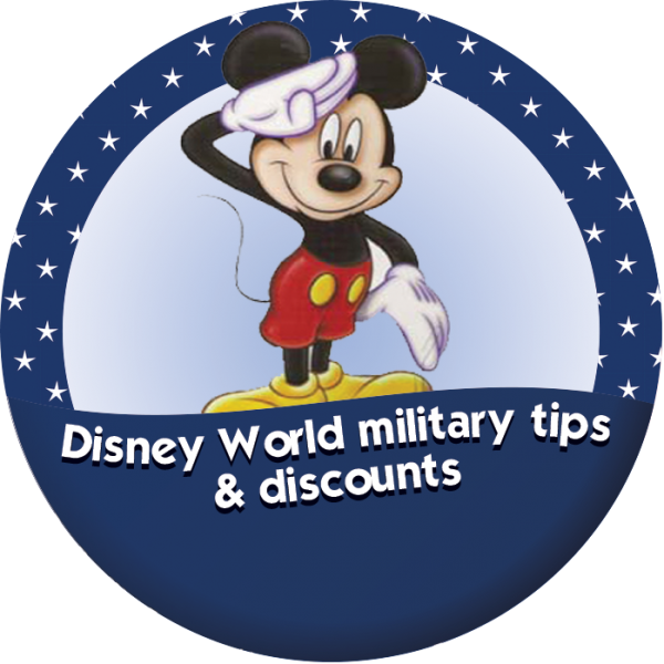 Disney World tips and discounts for military personnel from WDWPrepSchool.com