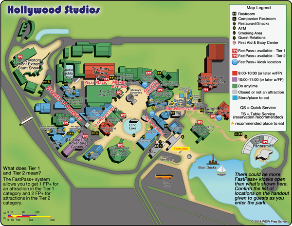 Guide to all Hollywood Studios attractions WDW Prep School