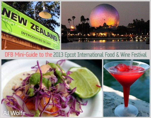 Complete overview of Epcots Food and Wine Festival in 2014 from WDWPrepSchool.com