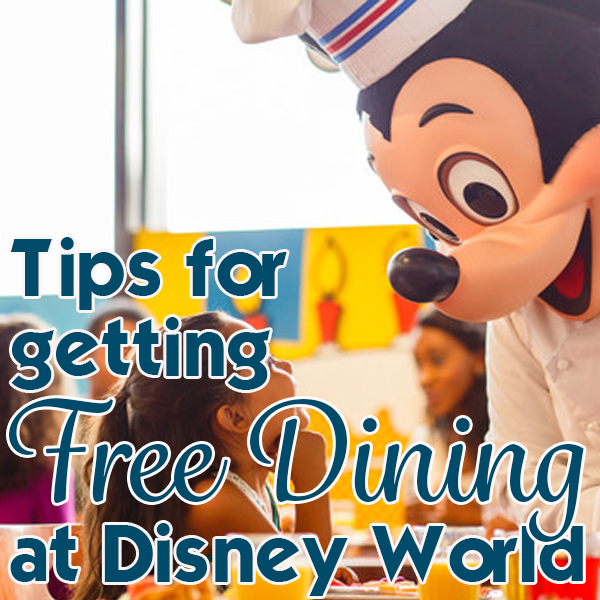 Tips for getting Free Dining   PREP073 from WDWPrepSchool.com