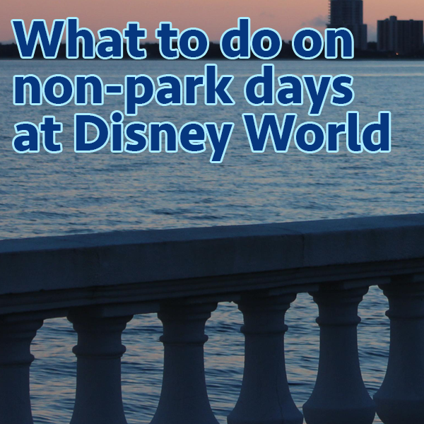 Things to do on non park days at Disney World   PREP072 from WDWPrepSchool.com